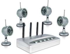 4 Way Surveillance Camera system 0000778