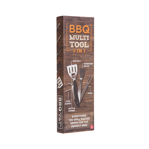 5-in-1 BBQ Tool Kit Large Image