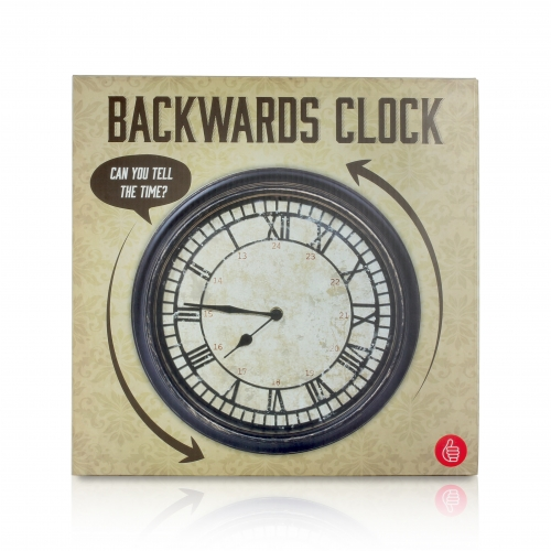 Antique Backwards Clock