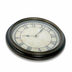 Antique Backwards Clock