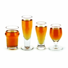 Schnapsglas - Craft Bier 4er Set (Barbuzzo)