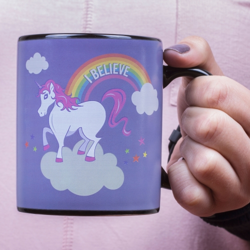 Unicorn Heat Change Mug Large Image