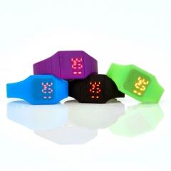 LED Armbanduhr
