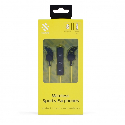 BT Sports Earphones - Green Large Image