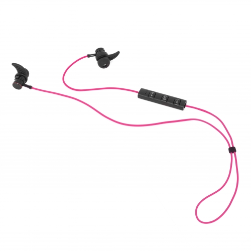 BT Sports Earphones - Pink Large Image