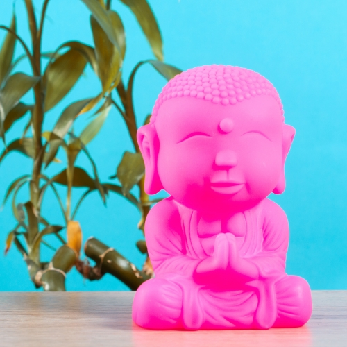 Buddha Light - Pink Large Image