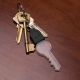 2D Light Bulb Key Chain thumbnail image 1
