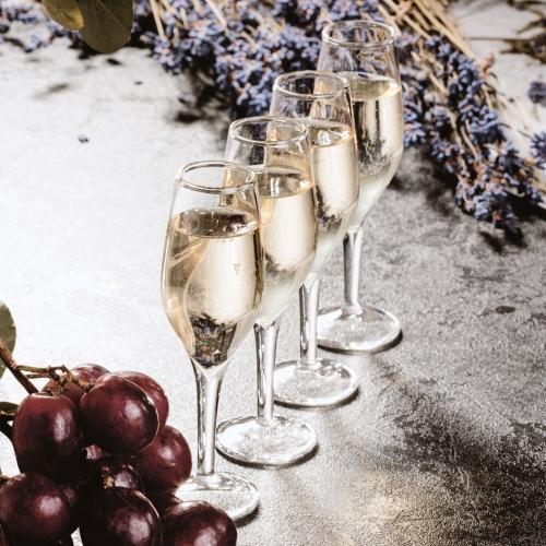 Champagne Shot Glasses Large Image