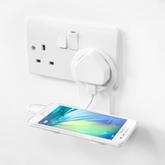 Phone Holder Charging Shelf