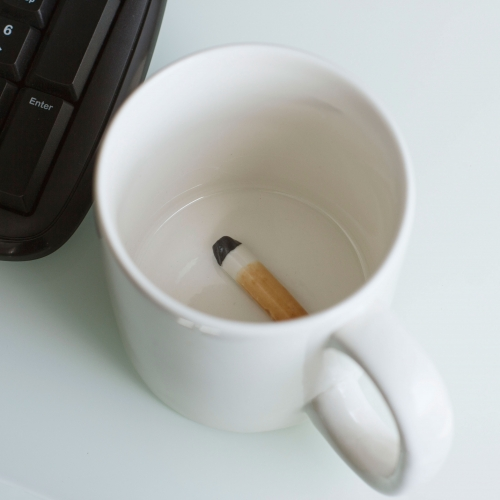 Gross Mug - Cigarette Large Image