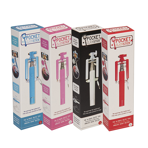 Pocket Click Stick Red