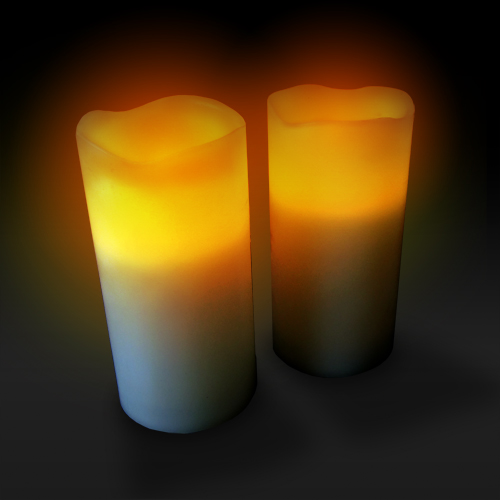 Remote Control Candle Set - 2 pack Large Image