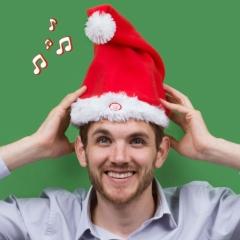 Dancing Santa Hat