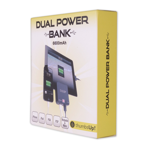 Dual Power Bank - 6600mAh
