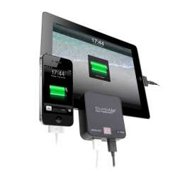 Double Power bank Noir  IPad / Smartphone/ GSM Ref 0001151