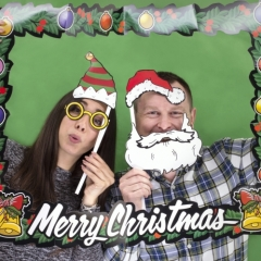 Elf Yourself Photo Props