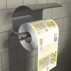 Papier toilette 200 € Ref 0000309