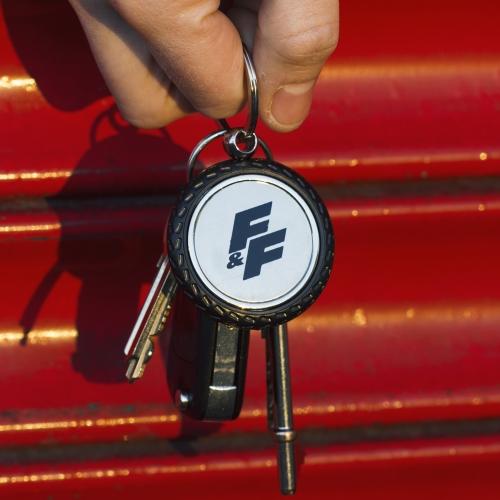 Fast & Furious - Wheel Keyring