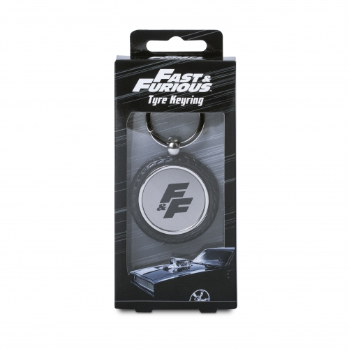Fast & Furious - Wheel Keyring Large Image