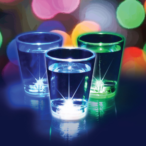 Flashing Shot Glasses - 3 Pack