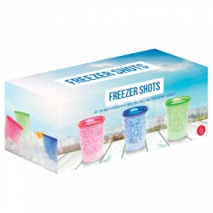 Freezer Shot Glasses (Pack of 3)