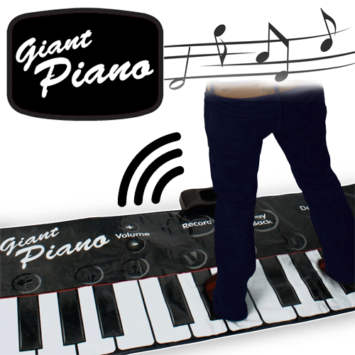 Gigantic Piano Keyboard Large Image