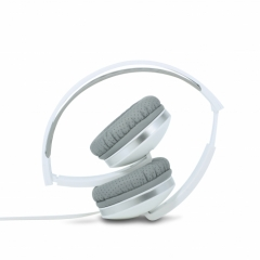 Folding Headphones - White