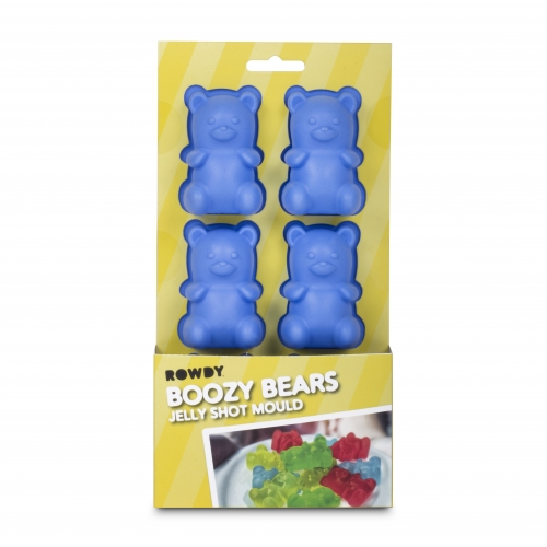 Boozy Bears Jelly Mould Large Image