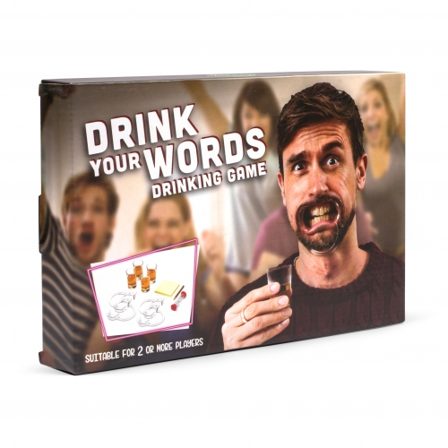 Trinkspiel - Drink Your Words (Mouthguard-Challenge)