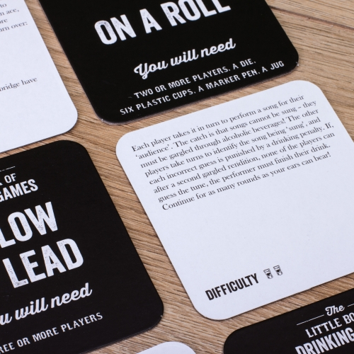 Drinking Games Beer Mat