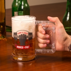 Power Pint Glass