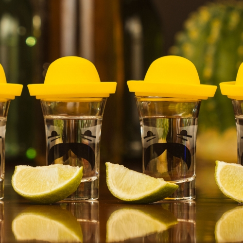 Mexican Sombrero Shot Glasses Large Image
