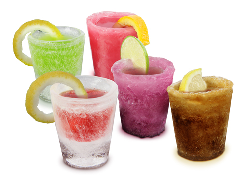 Ice Shot Glasses (12 Pack) Large Image