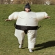 Inflatable Sumo Costume thumbnail image 0