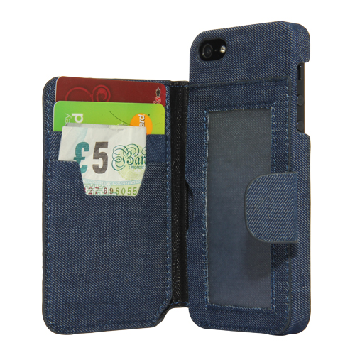 Etui iPhone 5/5S Jean's Ref 0001283