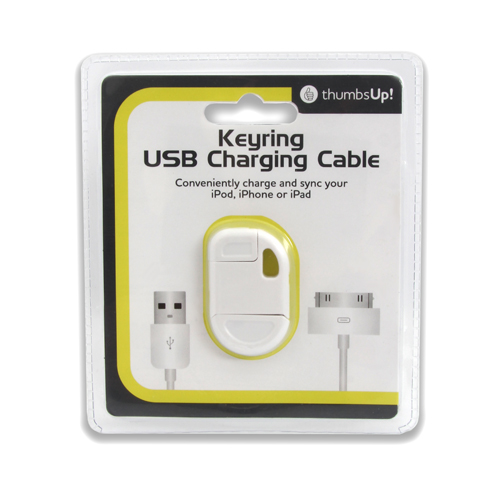 iPhone Keyring USB Charging Cable Large Image
