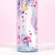 Llamacorn Plastic Water Bottle thumbnail image 4