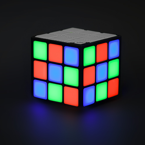 LED Cube Speaker Large Image