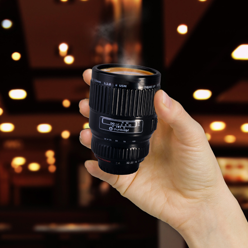 Lens Shot Glass
