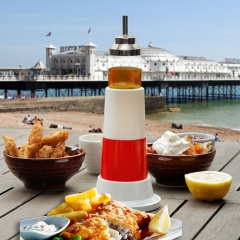 Lighthouse Set - Salt, Pepper & Vinegar