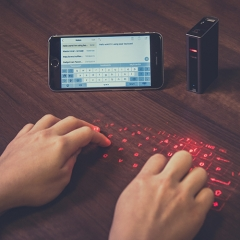 Laser Keyboard+ with Powerbank