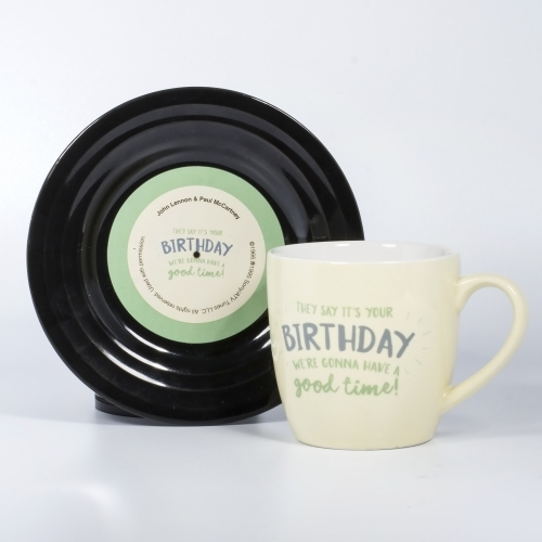 Tassen-Set - Lyrical Mug Birthday - Lennon & McCartney