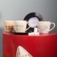 L&M Mug and Saucer Set - Diamonds thumbnail image 4