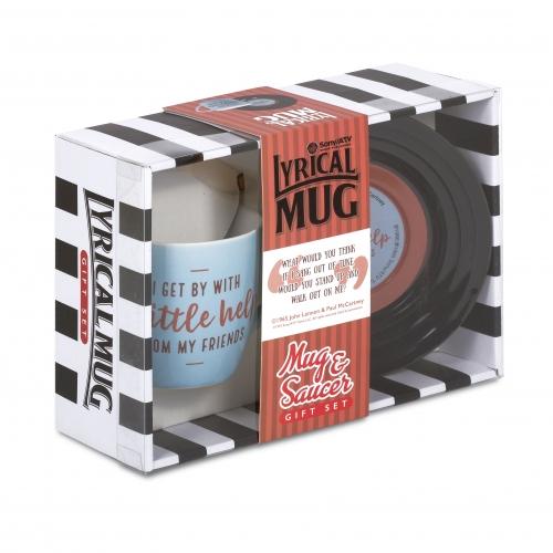 L&M Mug and Saucer Set - Friends Large Image