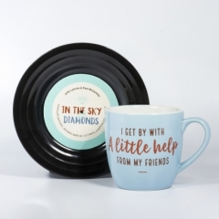 L&M Mug and Saucer Set - Friends