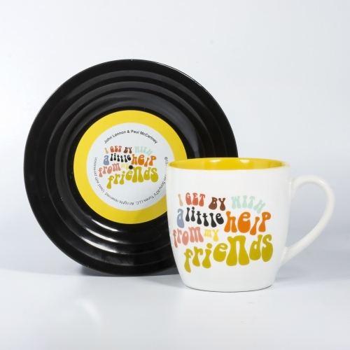 L&M Mug and Saucer Set - Friends 2