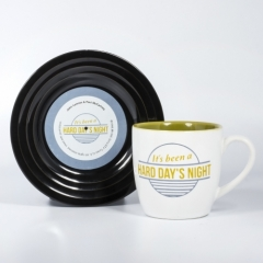 Tassen-Set - Lyrical Mug Hard Day's Night - Lennon & McCartney