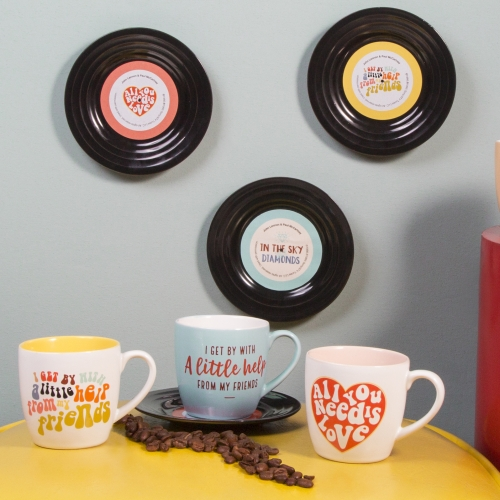 Tassen-Set - Lyrical Mug Love - Lennon & McCartney