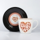 L&M Mug and Saucer Set - Love thumbnail image 0