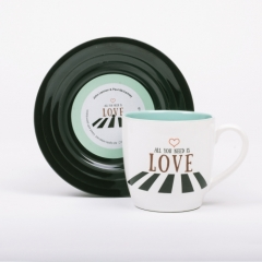 L&M Mug and Saucer Set - Love2